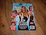 People Magazine-December 29, 2008-Best and Worst of 2008 issue. Jennifer Aniston.