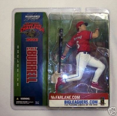 Pat Burrell 2003 Homerun Exclusive MLB Figure