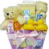 Art of Appreciation Gift Baskets It's A Girl - New Baby Gift Basket