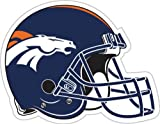 NFL Denver Broncos 12-Inch Vinyl Helmet Magnet at Amazon.com