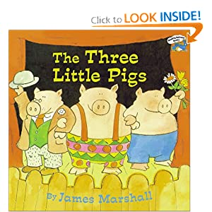 The Three Little Pigs (Reading Railroad Books)