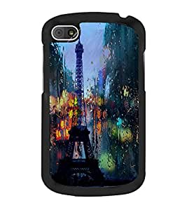 Eiffel Tower 2D Hard Polycarbonate Designer Back Case Cover for BlackBerry Q10