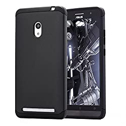 ASUS ZenFone 6 AnoKe? Armor dual layer bumper case TPU PC hybrid protective case for ASUS ZenFone 6 (Armor Black)