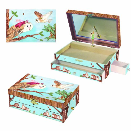 Enchantmints Owl Travelers Music Box