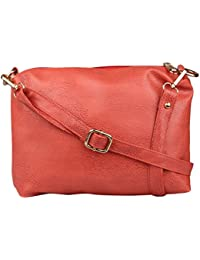 Speed X Fashion Women's Sling Bag (Peach)