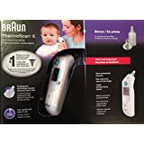 Braun Thermoscan 5 Ear Thermometer with 20 lens filters