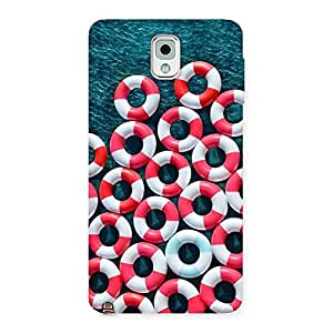Delighted Saving Sea Back Case Cover for Galaxy Note 3