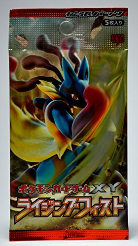 Pokemon Card Game XY Rising Fist Booster Pack - 1