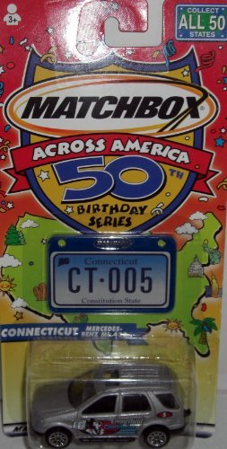 Matchbox Across America 50 Birthday Series: Connecticut Mercedes Benz ML 430 - 1