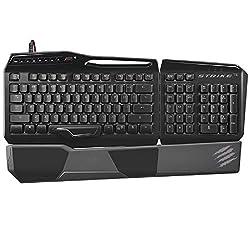 Mad Catz PC S.T.R.I.K.E. TE Mechanical Gaming Keyboard (Gloss Black)
