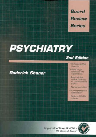 Psychiatry: Board Review Series