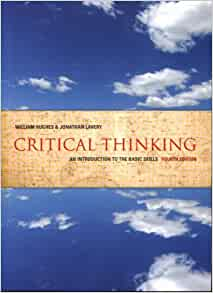 critical thinking an introduction to the basic skills