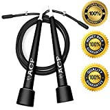 Top Rated Jump Rope - The Best Adult 10 Ft Fully-Adjustable Speed Cable for Crossfit, Exercise and Fitness, Mastering Double Unders, UFC & MMA Training, Speed Jumping, WOD's, Boxing or Any Other Workout. Works for Men, Women & Children. Great to use in any Home, Gym, Office, Travel or Outdoors. The Best Quality Jump Rope on the Market! ** Backed By a 100% Lifetime Money Back Guarantee ** By Amazing Core Fitness