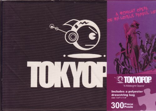 "TOKYOPOP ""A Midnight Opera"" 300 Piece Puzzle with Reusable Drawstring Bag"