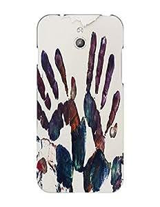 Bagsfull Designer Printed Matte Hard Back Cover Case For Infocus M2