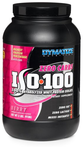 Dymatize Nutrition Iso 100 Whey Berry 910g