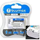 511EODEuoBL. SL160  Blumax Li Ion replacement battery for Canon LP E6 [white] fits Canon EOS 5D / Mark II / EOS 60D / EOS 7D WITH INFOCHIP!!