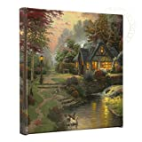 Thomas Kinkade Stillwater Cottage Gallery Wrap Canvas