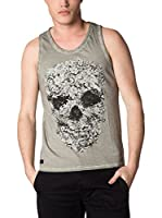 American People Camiseta Tirantes Dirty (Gris)