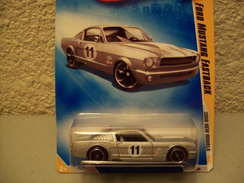 Hot Wheels 2008 New Models Grey Ford Mustang Fastback