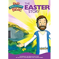The Jesus Series - The Easter Story: Read and Share DVD Bible
