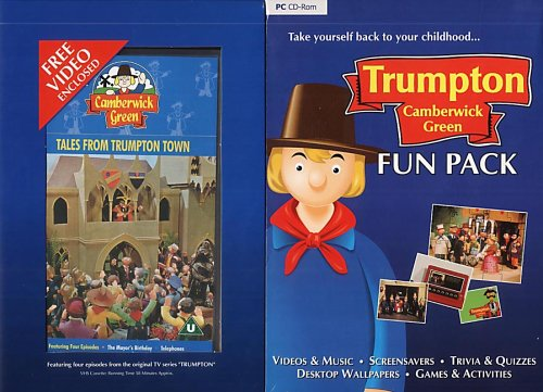 Trumpton Camberwick Fun Pack & FREE Video