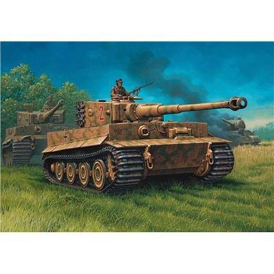 Revell-Modellbausatz-03116-PzKpfw-IV-Tiger-I-AusfE-im-Mastab-172