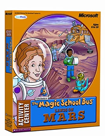 Magic School Bus Lands on Mars