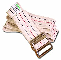 Essential Medical Supply Gait Belt with Metal Buckle, 72 Inch