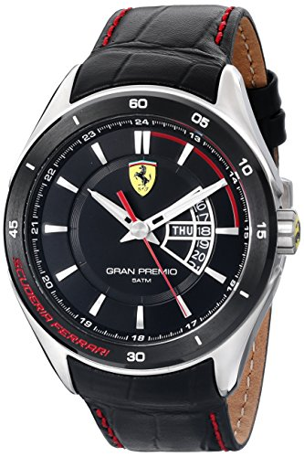 Ferrari De los hombres Scuderia Analógico Dress Cuarzo Reloj 0830183