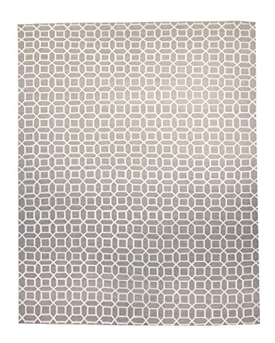 F.J. Kashanian Rugs One-of-a-Kind Luxe Rug, Light Gray/Ivory, 10′ 4″ x 13′ 6″