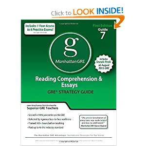 manhattan reading comprehension and essays Designed around the real-world legal applications of reading comprehension, the manhattan prep reading comprehension lsat strategy guide.