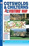 Cotswolds & Chilterns Visitors' Map (A-Z Road Maps & Atlases)