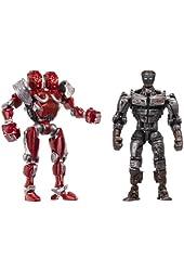 Real Steel Versus 2 Packs Assortment 1 - Atom vs. Twin Cities
