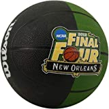 511EcGjM20L. SL160  Wilson 2012 NCAA Mens Basketball Tournament Final Four Mini Rubber Ball   Black Green