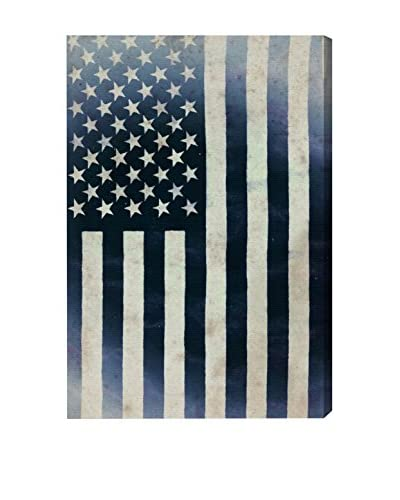 Oliver Gal Hatcher & Ethan 'Inked America' Canvas Art