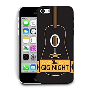 Snoogg The Gig Night Designer Protective Back Case Cover For IPHONE 5C