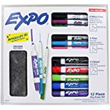 Expo 12 Piece Dry Erase Set