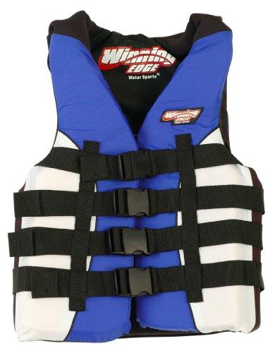 Image of Winning Edge Neo-Nylon Life Jacket Blue/White - Voted #1 (B001PNCM3Y)