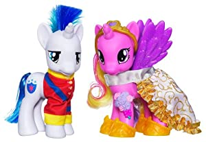 My Little Pony EXCLUSIVE Crystal Fashion Style - Princess Cadance & Shining Armor