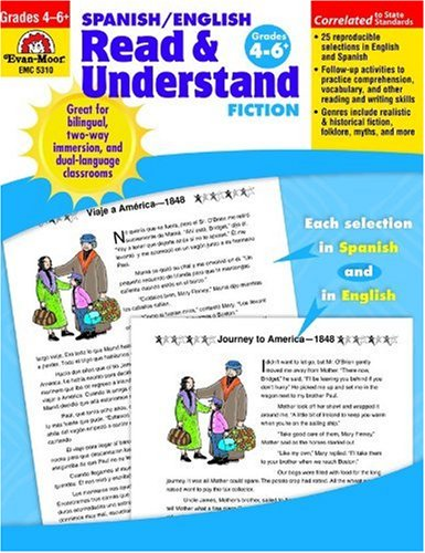 Spanish / English Read & Understand Fiction, Grades 4-6+ (Spanish Edition)