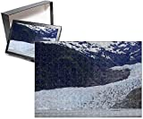 Photo Jigsaw Puzzle Of Mendenhall Glacier, Juneau, Alaska, United States Of America, North America