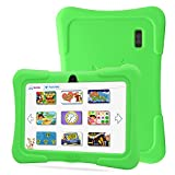 Dragon Touch 7″ Quad Core Android Kids Tablet, with Wifi and Camera and Games, HD Kids Edition w/ Zoodles Pre-Installed (2015 New Model, Y88X with Green Silicone Case)