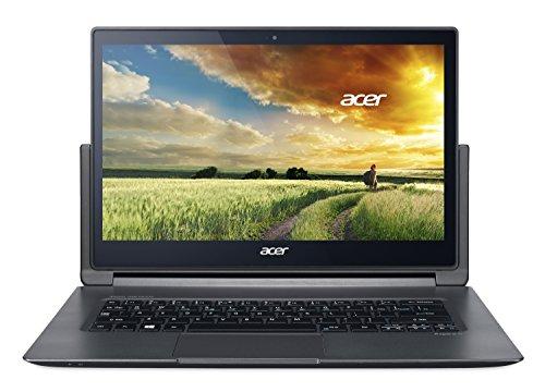 Acer NX.MQPEG.006 33,7 cm (13,3 Zoll) Notebook (Intel Core-i7 5500U, 2,2GHz, 8GB RAM, 512GB SSD, Win 8 Pro) schwarz