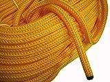 水に浮く黄ロープ 太:15mm メータ単位で