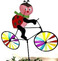 20 In. Bike Spinner Ladybug