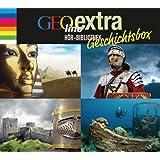 """GEOlino extra Hör-Bibliothek - Geschichtsbox -: """"Abenteuer Geschichte - Zeitreisen in die Vergangenheit""""; """"Das Mittelalter - Von Rittern, Burgfräulein ... """"Das alte Rom. Von Göttern und Gladiatoren"""""""