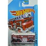 Hot Wheels 2014 Hw City Hw Rescue Red 5 Alarm Fire Truck 41/250