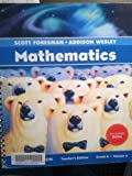 Scott Foresman-Addison Wesley Mathematics, Diamond Edition, Grade 6, Volume 4, Teacher's Edition