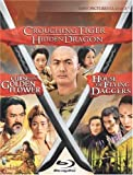 Crouching Tiger Hidden Dragon / Curse of the Golden Flower / House of Flying Daggers Trilogy [Blu-ray] (Bilingual) [Import]